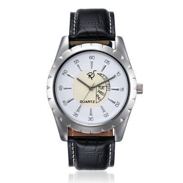 Rico Sordi Analog Round Dial Watch For Men_Rsmwl71 - White