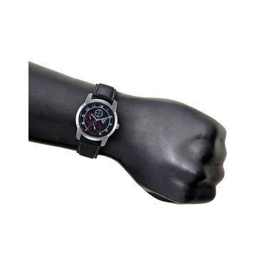 Rico Sordi Analog Round Dial Watch For Men_Rsmwl72 - Black