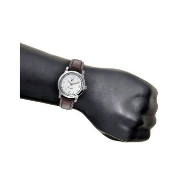 Rico Sordi Analog Round Dial Watch For Men_Rsmwl83 - White