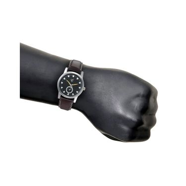 Rico Sordi Analog Round Dial Watch For Men_Rsmwl86 - Black
