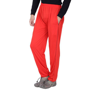 Pack of 2 Fizzaro Regular Fit Trackpants_Fl101107 - Grey & Red