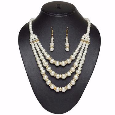 Pourni Pearl Necklace Set _Pearlnk600