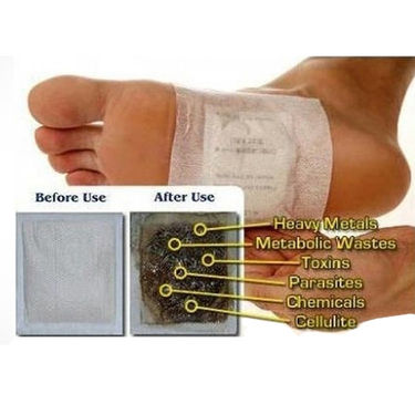 Foot Reflexology Massage Slippers with 10pcs Detox Foot Patches