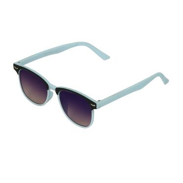 Swiss Design Wayfarer Plastic Sunglass For Unisex_S18276sbl - Blue