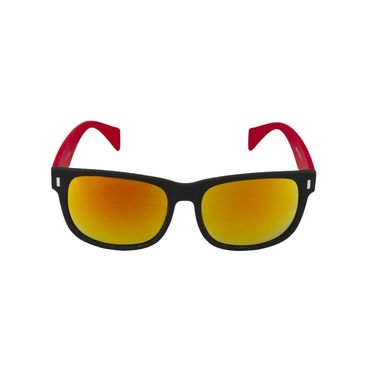 Swiss Design Full Rim Plastic Sunglass For Unisex_S89218rd - Mercury Orange