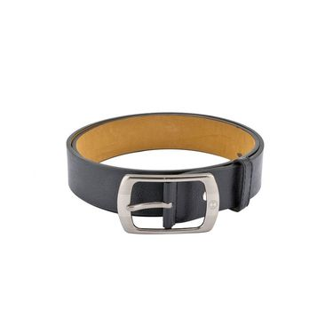 Mango People Leatherite Casual Belt For Men_Mp105bk - Black