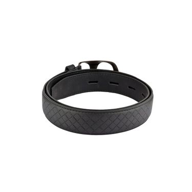 Mango People Leatherite Casual Belt For Men_Mp108bk - Black