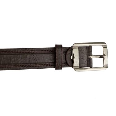 Mango People Leatherite Casual Belt For Men_Mp115br - Brown