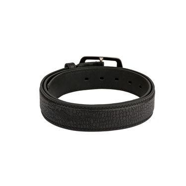 Mango People Leatherite Casual Belt For Men_Mp118bk - Black