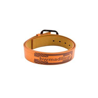 Mango People Leatherite Casual Belt For Men_Mp125tn - Tan