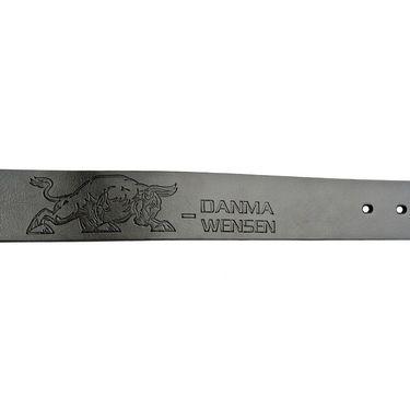 Swiss Design Leatherite Casual Belt For Men_Sd06blk - Black