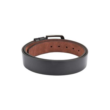 Swiss Design Leatherite Casual Belt For Men_Sd07blk - Black