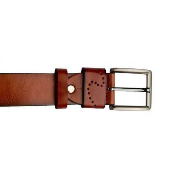 Swiss Design Leatherite Casual Belt For Men_Sd10tn - Tan