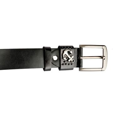 Swiss Design Leatherite Casual Belt For Men_Sd103blk - Black