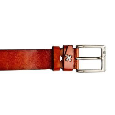 Swiss Design Leatherite Casual Belt For Men_Sd105tn - Tan