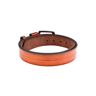 Swiss Design Leatherite Casual Belt For Men_Sd107tn - Tan