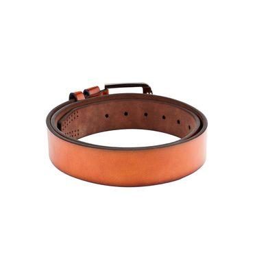 Swiss Design Leatherite Casual Belt For Men_Sd108tn - Tan