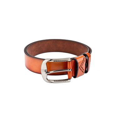 Swiss Design Leatherite Casual Belt For Men_Sd109tn - Tan