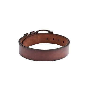 Swiss Design Leatherite Casual Belt For Men_Sd115br - Brown