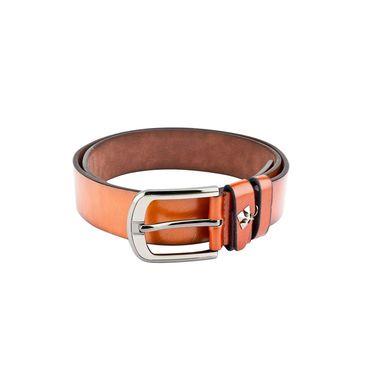 Swiss Design Leatherite Casual Belt For Men_Sd116tn - Tan