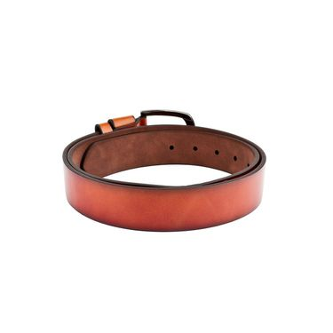 Swiss Design Leatherite Casual Belt For Men_Sd117tn - Tan