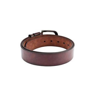 Swiss Design Leatherite Casual Belt For Men_Sd120br - Brown