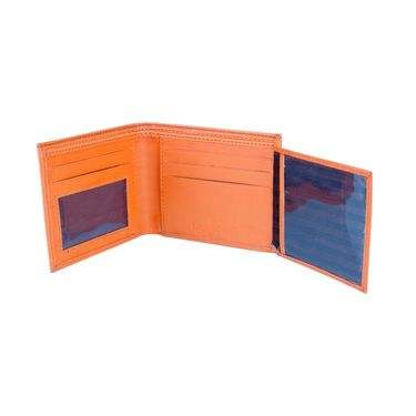 Mango People Stylish Wallet For Men_Mp 100or - Orange