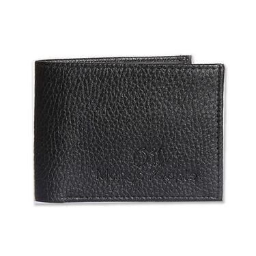 Mango People Stylish Wallet For Men_Mpw16001bk - Black