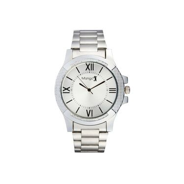 Mango People Round Dial Watch For Men_MP015 - Silver