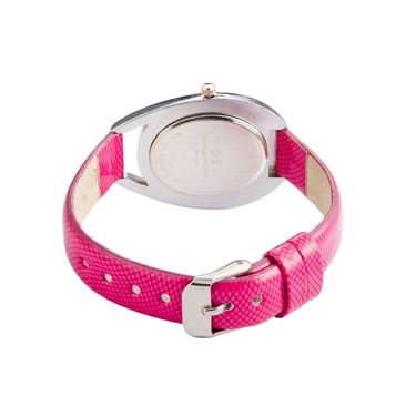 Mango People Oval Dial Watch For Women_MP003PK01 - Pink
