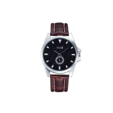 Mango People Round Dial Watch For Women_MP047BK01 - Black
