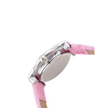 Mango People Round Dial Watch For Women_MP206PK01 - White