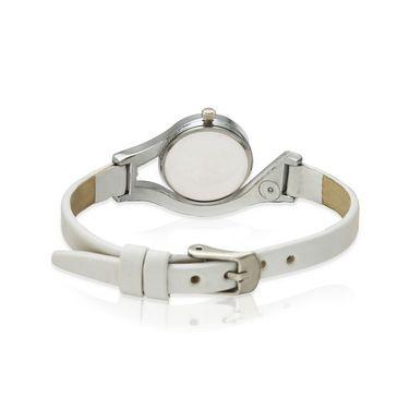 Oleva Analog Wrist Watch For Women_Olw10b - White