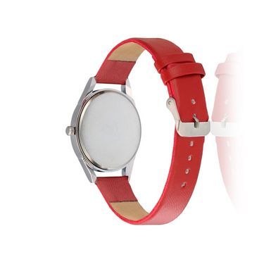 Oleva Analog Wrist Watch For Women_Olw15r - Red
