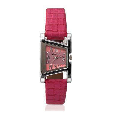 Oleva Analog Wrist Watch For Women_Olw18p - Pink