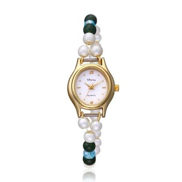 Oleva Analog Wrist Watch For Women_Opw78 - White