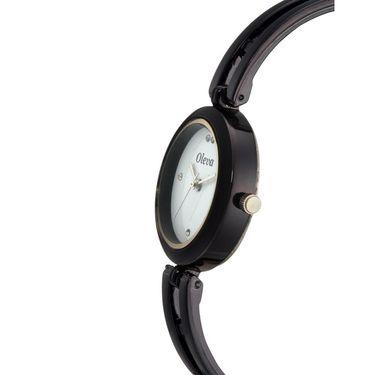 Oleva Analog Wrist Watch For Women_Osw17b - Black