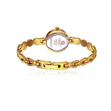 Oleva Analog Wrist Watch For Women_Osw22gb - Black & Golden