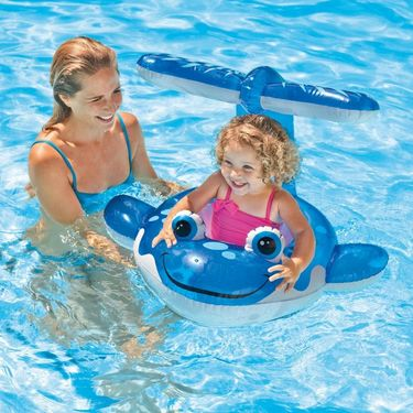 Intex Baby Kiddie Pool - Whale Friend Shaded Canopy
