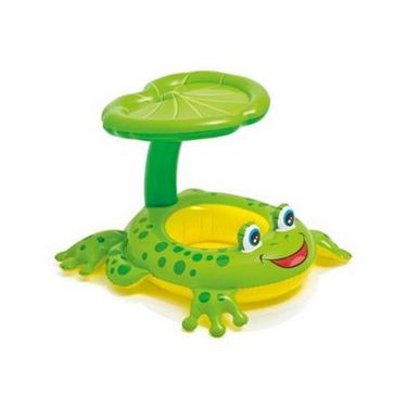Intex Baby Swimming Pool - Froggy Friend Lounge Float Sunshade