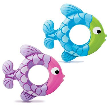 Intex Inflatable Swimming Ring Fish Shape 59222 - Fun For Kids