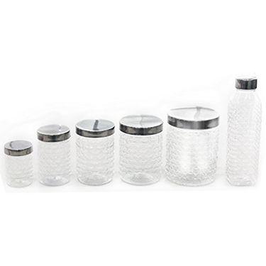 Princeware 28 Pcs Pet Jar Containers Set