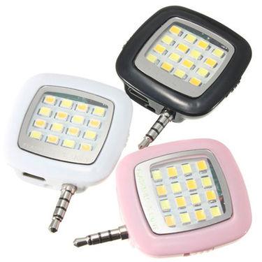 Shutterbugs Portable Mini 16 LED Selfie Flash Light (Assorted)
