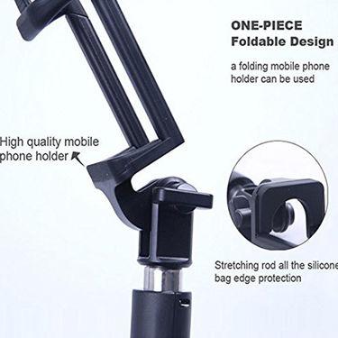 ShutterBugs Bluetooth Foldable Selfie Stick (Black)