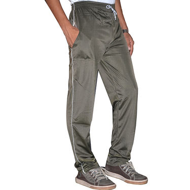 Delhi Seven Regular Fit Trackpant For Men_D7TP25  - Grey