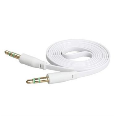 Flashmob Premium Aux Cable - White