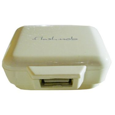 Flashmob Premium 2Amp Wall Charger - White