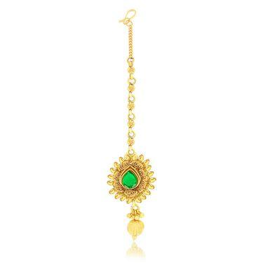 Spargz Brass Metal Necklace Set_Ains082