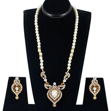 Spargz Alloy Metal Necklace Set_Ains111