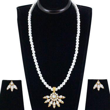 Spargz Alloy Metal Necklace Set_Ains114